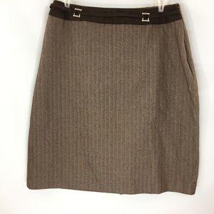 Ali Miles Skirt Strait Knee Length Size 8